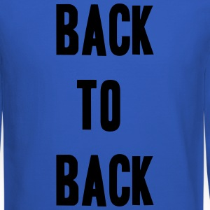 Back to back Long Sleeve Shirts - Crewneck Sweatshirt