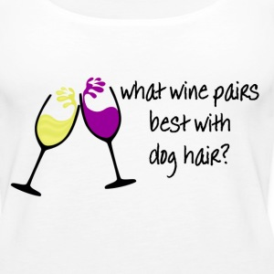 Wine and Dogs Tanks - Women's Premium Tank Top