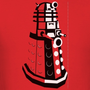 Dalek from Dr. Who - Men's T-Shirt