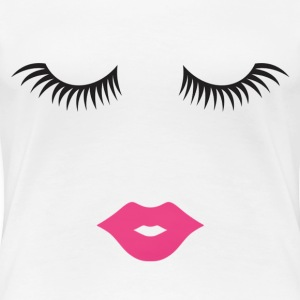 Lashes & Lips - Women's Premium T-Shirt