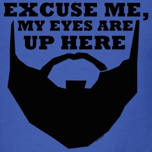 Excuse Me Beard - Basic Tee - Men's T-Shirt