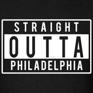 Straight Outta Philly T-Shirts - Men's T-Shirt