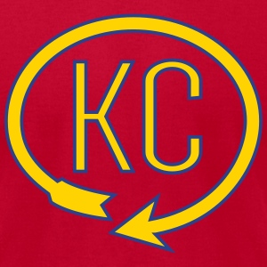 KC Landmark Shirt - Men's T-Shirt by American Apparel
