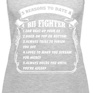 5reasons to date bjj figh Tanks - Women's Premium Tank Top