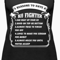5reasons to date bjj figh Tanks