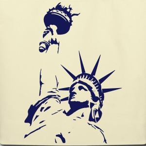 statue of liberty NY Bags & backpacks - Eco-Friendly Cotton Tote