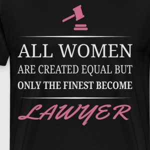 The Finest Become Lawyer - Men's Premium T-Shirt