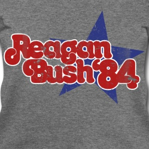 Reagan bush 1984 republican 84 - Women's Wideneck Sweatshirt