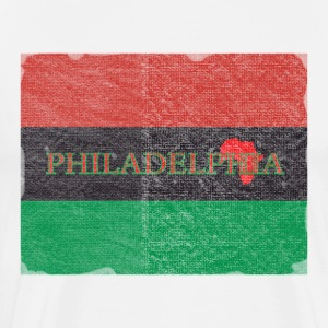 Philly Philadelphia African Flag T-Shirts - Men's Premium T-Shirt