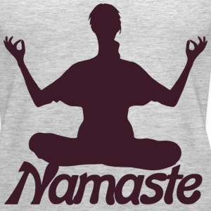 Namaste Yoga meditation  - Women's Premium Tank Top