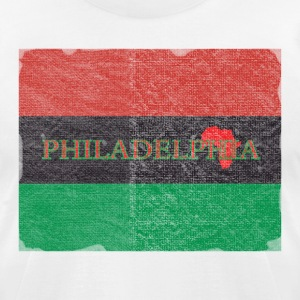 Philly Philadelphia African Flag T-Shirts - Men's T-Shirt by American Apparel