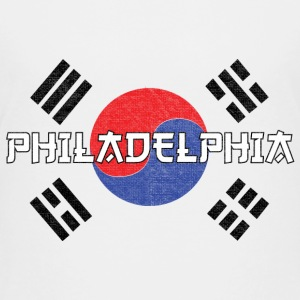 Philly Philadelphia Korean Flag Kids' Shirts - Kids' Premium T-Shirt