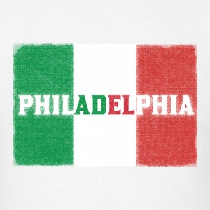 Philly Philadelphia Italian Flag T-Shirts - Men's T-Shirt