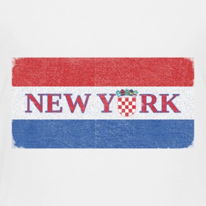 New York Croatian Flag Baby & Toddler Shirts - Toddler Premium T-Shirt