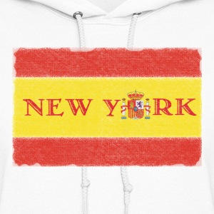 New York Spanish Flag Hoodies - Women's Hoodie