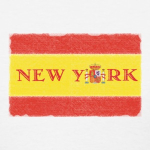 New York Spanish Flag Women's T-Shirts - Women's T-Shirt