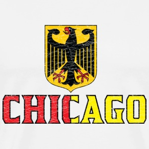 Chicago German Flag T-Shirts - Men's Premium T-Shirt