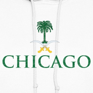 Chicago Saudi Arabia Flag Hoodies - Women's Hoodie