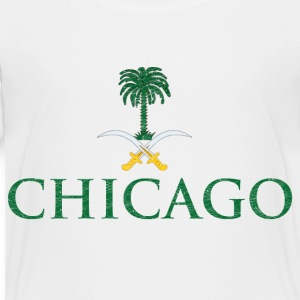 Chicago Saudi Arabia Flag Baby & Toddler Shirts - Toddler Premium T-Shirt