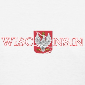 Wisconsin Poland Polish Flag Women's T-Shirts - Women's T-Shirt