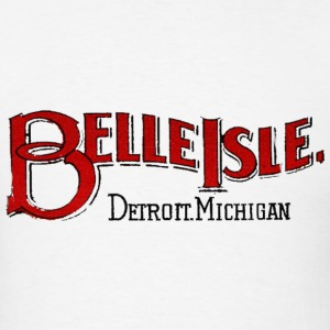 Old Belle Isle Detroit Michigan T-Shirts - Men's T-Shirt