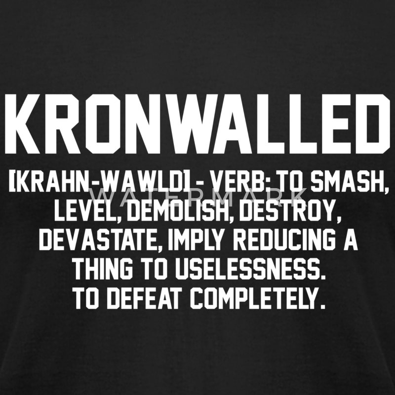 Kronwalled Hockey Hit T-Shirt | Spreadshirt