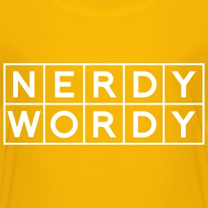 Nerdy Wordy (Princess Rap Battle) Kids' Shirts - Kids' Premium T-Shirt