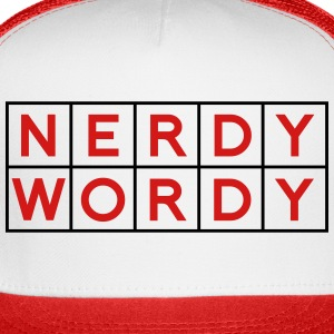Nerdy Wordy (Princess Rap Battle) Caps - Trucker Cap