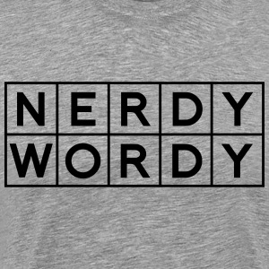 Nerdy Wordy (Princess Rap Battle) T-Shirts - Men's Premium T-Shirt