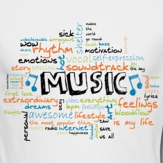MUSIC Long Sleeve Shirts