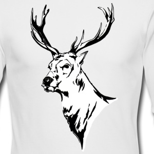 Stag - Long sleeved t-shirt - Men's Long Sleeve T-Shirt by Next Level