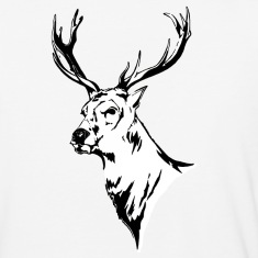 Stag - Long sleeved t-shirt