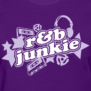 R&B Junkie - Women's T-Shirt