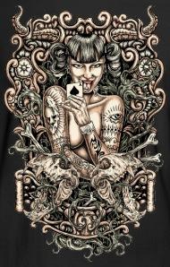 Sexy cartoon devil tattoo