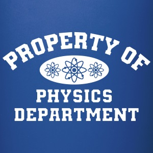 Property Of Physics Department - Full Color Mug