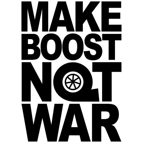 Make Boost Not War