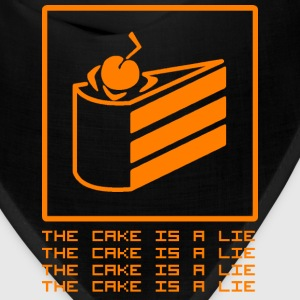 THE CAKE IS A LIE Caps - Bandana