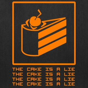 THE CAKE IS A LIE Bags & backpacks - Tote Bag