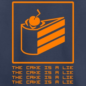 THE CAKE IS A LIE Baby & Toddler Shirts - Toddler Premium T-Shirt