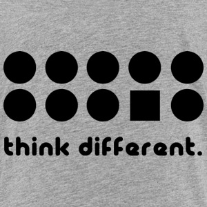 THINK DIFFERENT Baby & Toddler Shirts - Toddler Premium T-Shirt