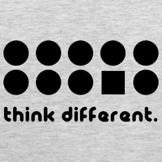 THINK DIFFERENT Tank Tops
