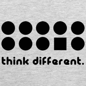 THINK DIFFERENT Tank Tops - Men's Premium Tank