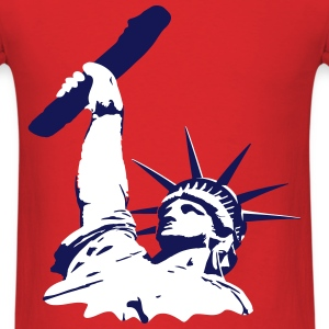 statue of liberty dildo T-Shirts - Men's T-Shirt