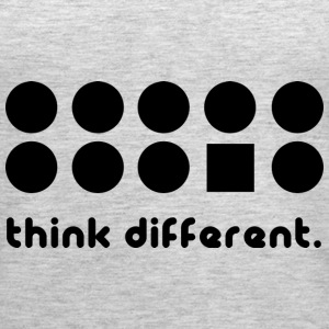 THINK DIFFERENT Tanks - Women's Premium Tank Top