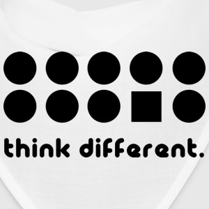 THINK DIFFERENT Caps - Bandana