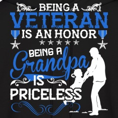 Being A Veteran Is An Honor Being A Grandpa