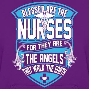 Blessed Are The Nurses For They Are The Angels - Women's Hoodie