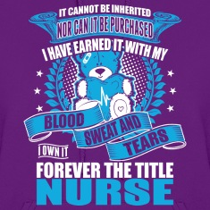 I Own It Forever The Title Nurse