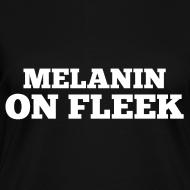 Design ~ Melanin on Fleek - V-Neck