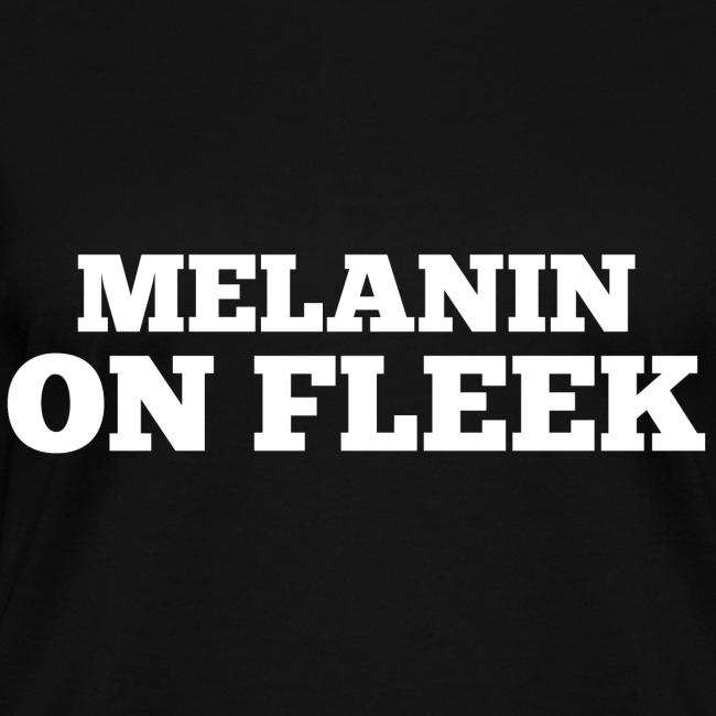 Melanin on Fleek - V-Neck